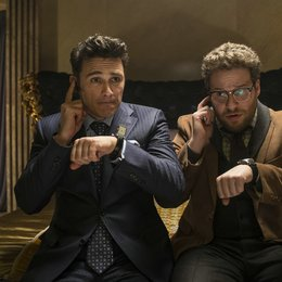 Interview, The / James Franco / Seth Rogen Poster