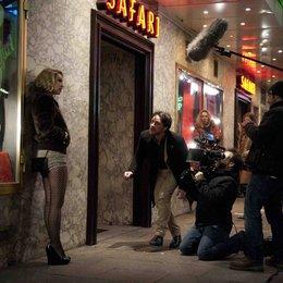 """James McAvoy mit Shauna MacDonald vor der Kamera für """"Filth"""" Poster"""