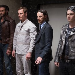 X-Men: Zukunft ist Vergangenheit / Hugh Jackman / Michael Fassbender / James McAvoy / Evan Peters / X-Men: Cerebro Collection