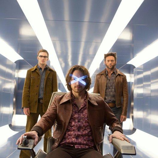 X-Men: Zukunft ist Vergangenheit / Nicholas Hoult / James McAvoy / Hugh Jackman Poster