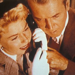 Mann, der zuviel wußte, Der / Doris Day / James Stewart Poster