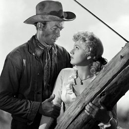 Winchester 73 / James Stewart / Shelley Winters Poster