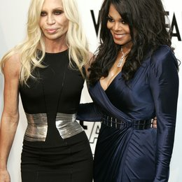 Versace, Donatella / Janet Jackson / amFar (American Foundation for Aids Research) Mailand 2009 Poster