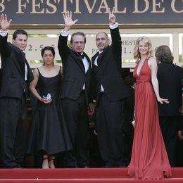 58. Filmfestival Cannes 2005 - Festival de Cannes / Julio Cesar Cedillo / Tommy Lee Jones / Guillermo Arriaga Jordan / January Jones Poster