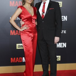 "Riggio, Allegra / Harris, Jared / AMC Celebration der finalen 7. Staffel von ""Mad Men"", Los Angeles Poster"
