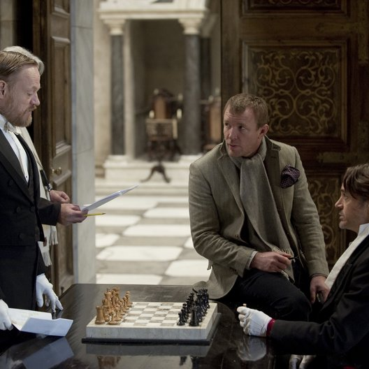 Sherlock Holmes: Spiel im Schatten / Set / Jared Harris / Guy Ritchie / Robert Downey Jr.