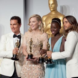 86. Academy Awards - Oscars 2014 / Matthew McConaughey, Cate Blanchett, Lupita Nyong'o und Jared Leto Poster