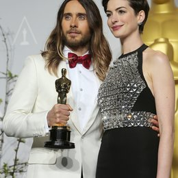 Jared Leto / Anne Hathaway / 86th Academy Awards 2014 / Oscar 2014 Poster