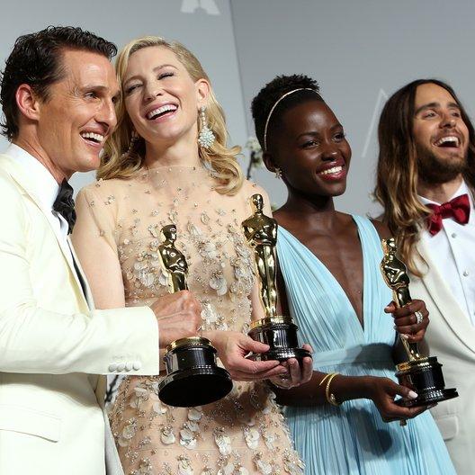 Matthew McConaughey / Cate Blanchett / Lupita Nyong'o / Jared Leto / 86th Academy Awards 2014 / Oscar 2014 Poster