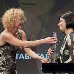 Echo Jazz 2012 / Überreichte ihrer Freundin Jasmin Tabatabai (rechts) den Preis: Katja Riemann