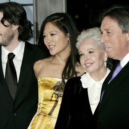 "Reitman, Jason und Ehefrau Lee, Michele / Robert, Genevieve / Reitman, Ivan / Premiere von ""Up in the Air"" Poster"