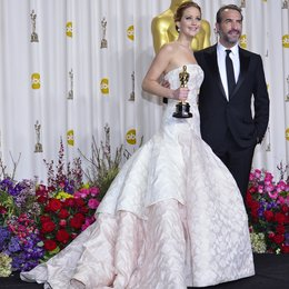 Jennifer Lawrence / Jean Dujardin / 85th Academy Awards 2013 / Oscar 2013 Poster