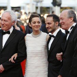Jean-Pierre Dardenne / Marion Cotillard / Fabrizio Rongione / Luc Dardenne / 67. Internationale Filmfestspiele von Cannes 2014 Poster