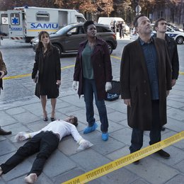 Cop - Crime Scene Paris, The / The Cop - Crime Scene Paris (1. Staffel, 8 Folgen) / Jean Reno / Tom Austen / Celyn Jones / Wunmi Mosaku / Orla Brady Poster