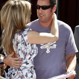 Jennifer Aniston / Adam Sandler / Ein Stern für Jennifer Aniston am Hollywood Walk of Fame Poster