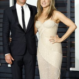 Theroux, Justin / Aniston, Jennifer / Vanity Fair Oscar Party 2015