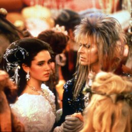 Reise ins Labyrinth, Die / Jennifer Connelly / David Bowie Poster