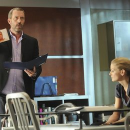 Dr. House (06. Staffel) / Hugh Laurie / Jennifer Morrison Poster
