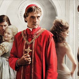 Borgias - Sex. Macht. Mord. Amen. (1. Staffel), Die / Borgias - Sex. Macht. Mord. Amen., Die / Jeremy Irons / Lotte Verbeek / Holliday Grainger / François Arnaud / David Oakes Poster