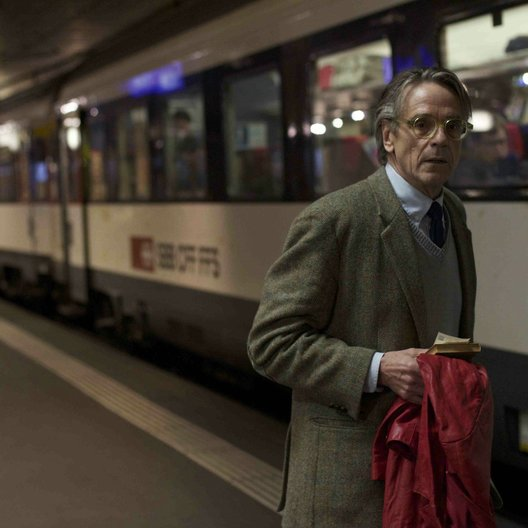 Nachtzug nach Lissabon / Jeremy Irons Poster