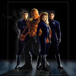 Fantastic Four / Chris Evans / Michael Chiklis / Jessica Alba / Ioan Gruffudd Poster