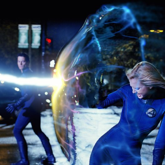 Fantastic Four / Ioan Gruffudd / Jessica Alba Poster