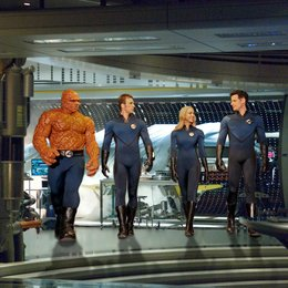 Fantastic Four - Rise of the Silver Surfer / Michael Chiklis / Chris Evans / Jessica Alba / Ioan Gruffudd Poster