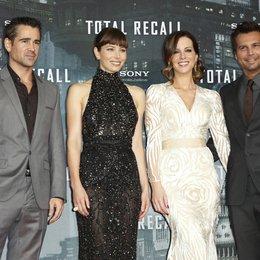 """Deutschlandpremiere von """"Total Recall"""" / Colin Farrell, Jessica Biel, Kate Beckinsale und Len Wiseman Poster"""