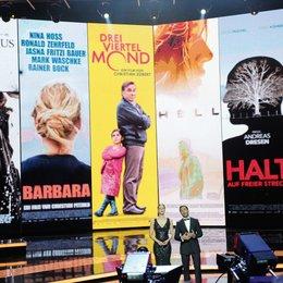 62. Deutscher Filmpreis 2012 / Moderatorenduo Jessica Schwarz und Elyas M'Barek Poster