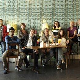 Max Rüdlinger, Hamza Jeetooa, Ruth Geiger (Diogenes Verlag), Hanspeter Müller-Drossaart, Regisseur Ralf Huettner, Sonja Ewers (Senator Film Köln), Jessica Schwarz, Anne Walser (C-Films AG) und Helge Sasse (Senator Film) v.l. Poster