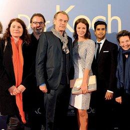 """Premiere von """"Der Koch"""" in Essen / Britta Lengowski, Sonja Ewers, Anatol Nitschke, Ralf Huettner, Jessica Schwarz, Hamza Jeetooa, Ruth Toma und Helge Sasse Poster"""