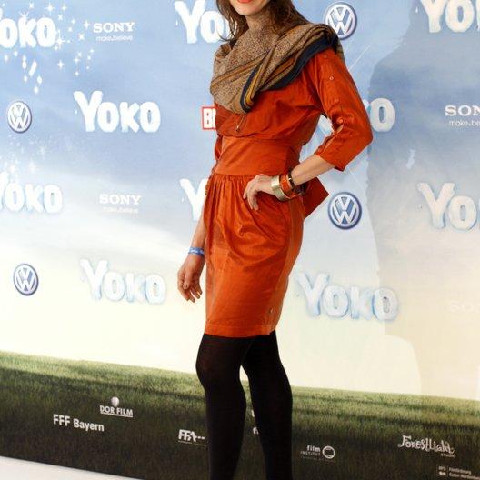 """Schwarz, Jessica / Deutschlandpremiere von """"Yoko"""" Poster"""