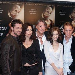 """Filmpremiere """"Das Phantom der Oper"""" / Gerard Butler / Minnie Driver / Joel Schumacher / Emmy Rossum / Patrick Wilson / Joel Schumacher Poster"""