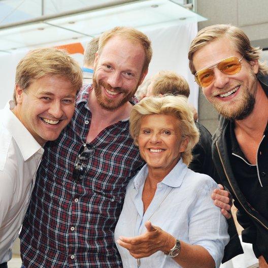 30. Filmfest München 2012 / ZDF-Empfang / Marcus Mittermeier, Johann von Bülow, Carola Studlar und Henning Baum Poster