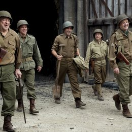 Monuments Men - Ungewöhnliche Helden / Monuments Men / John Goodman / Matt Damon / George Clooney / Bob Balaban / Bill Murray