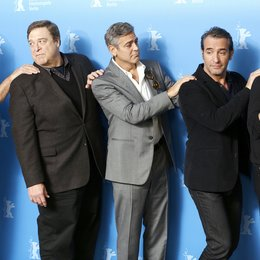 Murray, Bill / Goodman, John / Clooney, George / Dujardin, Jean / Damon, Matt / 64. Berlinale 2014