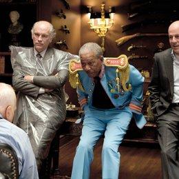 R.E.D. - Älter. härter. besser. / R.E.D. - Älter, härter, besser / R. E. D. - Älter, härter, besser / John Malkovich / Morgan Freeman / Bruce Willis Poster