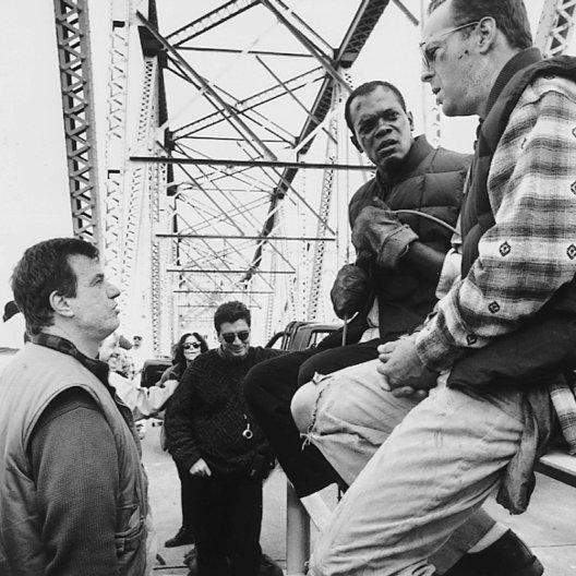 Stirb langsam - Jetzt erst recht / Set / John McTiernan / Samuel L. Jackson / Bruce Willis Poster