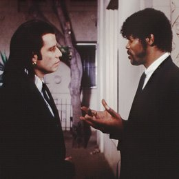 Pulp Fiction / John Travolta / Samuel L. Jackson Poster