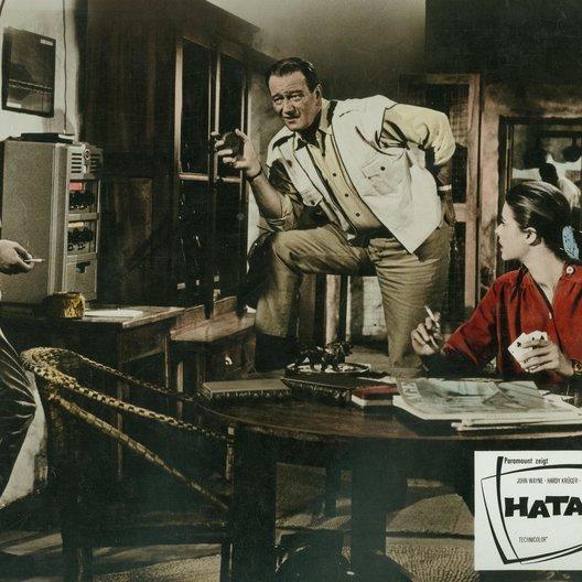 Hatari / Hardy Krüger / John Wayne / Red Buttons