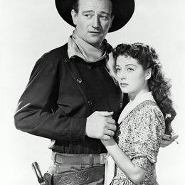 schwarze Reiter, Der / John Wayne / Gail Russell