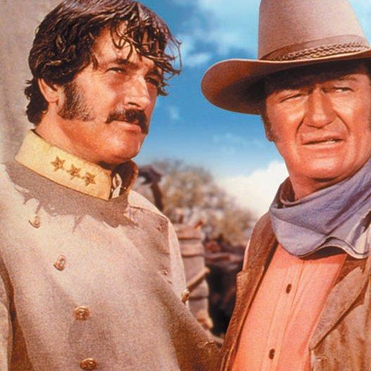 Unbesiegten, Die / Rock Hudson / John Wayne
