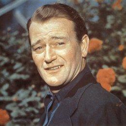 Wayne, John / John Wayne / Spuren im Sand