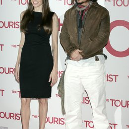 Angelina Jolie / Johnny Depp / Filmpremiere The Tourist Poster