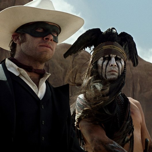 Lone Ranger, The / Armie Hammer / Johnny Depp Poster