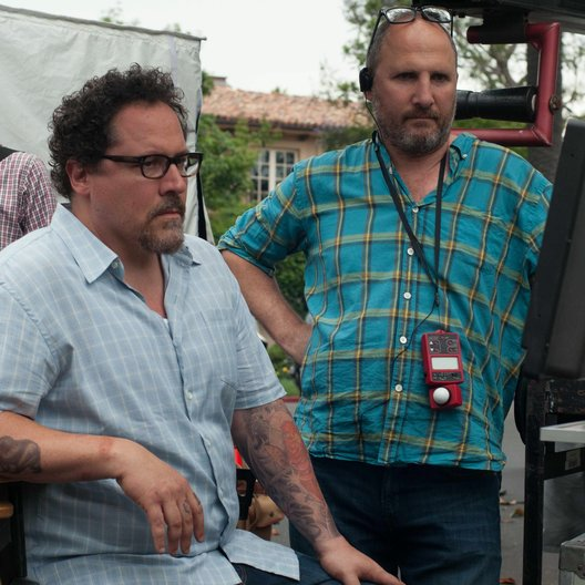 Kiss the Cook / Set / Jon Favreau Poster