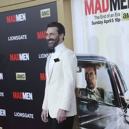 "Hamm, Jon / AMC Celebration der finalen 7. Staffel von ""Mad Men"", Los Angeles Poster"
