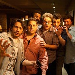 Das ist das Ende / James Franco / Jonah Hill / Seth Rogen / Jay Baruchel / Danny McBride / Craig Robinson Poster