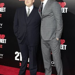 """Jonah Hill / Channing Tatum / Filmpremiere """"21 Jump Street"""" Poster"""