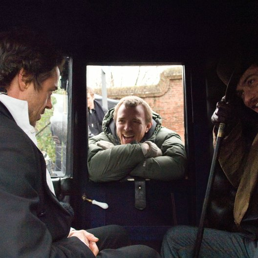 Sherlock Holmes / Robert Downey Jr. / Guy Ritchie / Jude Law / Set